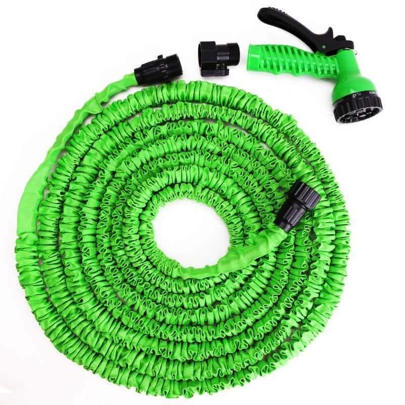 Поливочный шланг Xhose (Икс Хоуз) с распылителем, зеленый, 30 метров