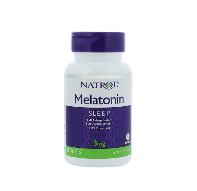 Melatonin 3 мг от Natrol 60 таб