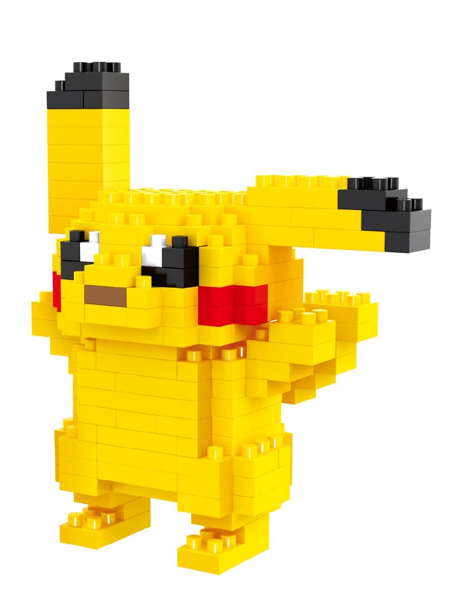 Конструктор Wisehawk & LNO покемон Пикачу 170 деталей NO. 115 Pikachu Gift Series