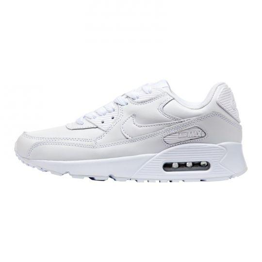 Кроссовки Nike Air Max 90 Leather белые