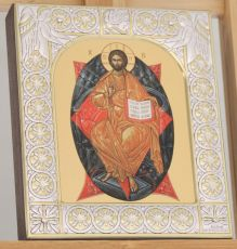 Икона Спас в Силах (9х10,5см)