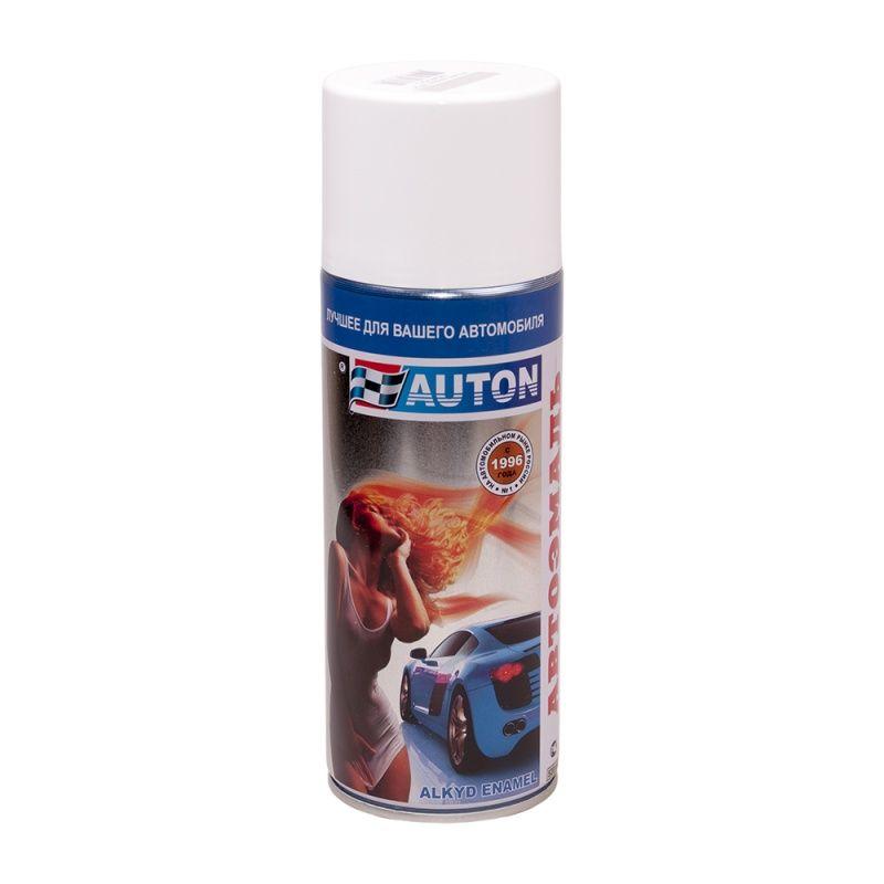 """Auton Автоэмаль, название цвета """"Белая ночь"""", в аэрозольном баллоне, объем 520мл."""