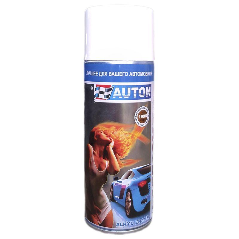 """Auton Автоэмаль, название цвета """"Светло-серый КАМАЗ"""", в аэрозольном баллоне, объем 520мл."""