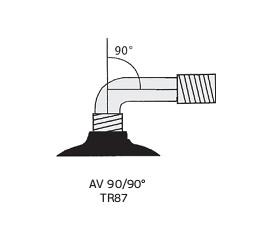 """Камера 2.80/2.50-4"""", AV 90/90"""