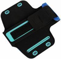 "Чехол спортивный на руку Romix Arm Belt (RH07-4.7) для смартфона 4.7"" (Blue) фото2"