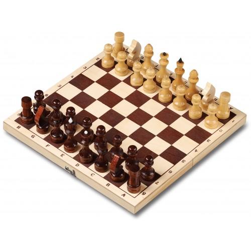 Шахматы деревянные лакированные 29x29см