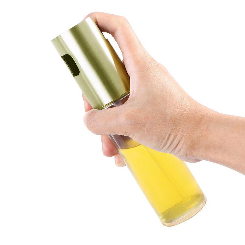 Бутылочка-спрей для масла и уксуса White Plate (цвет золотистый)