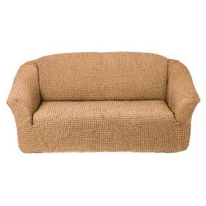 Чехол на 3х-местный диван без оборки,МЕДОВЫЙ