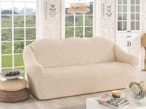 Чехол на 3х-местный диван без оборки,натурал