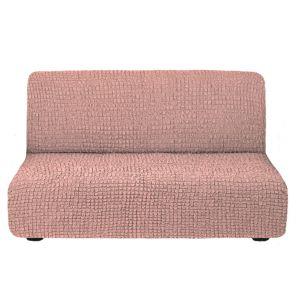 Чехол на диван без подлокотников Сухая роза
