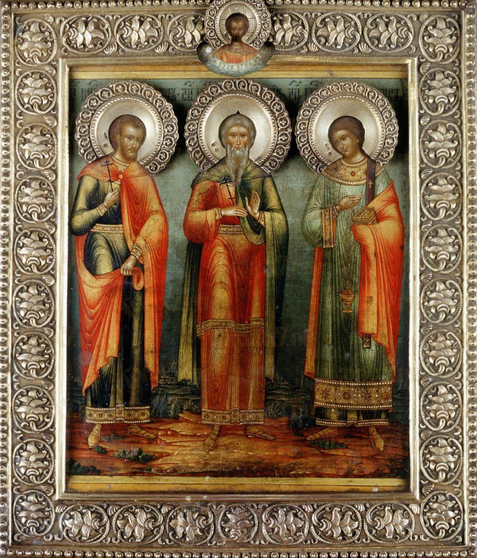 Икона Гурий Едесский мученик