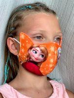Медицинские маски для детей с рисунком Холодное сердце. Интернет магазин, Москва