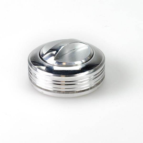 Оснастка металлическая ручная - Брелок-кнопка со штемпельной подушкой
