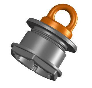 Клапан сливной (под транец 17-28мм)