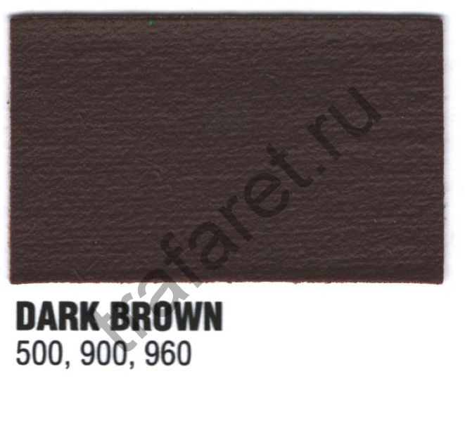 Краска пластизоль Excalibur 500 Dark brown/ Коричневый (5 кг.)