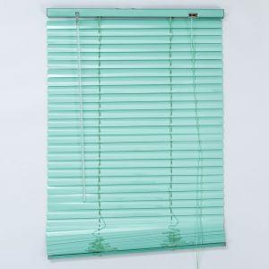 Жалюзи горизонтальные 50х160 см, цвет европейский зелёный   4595732