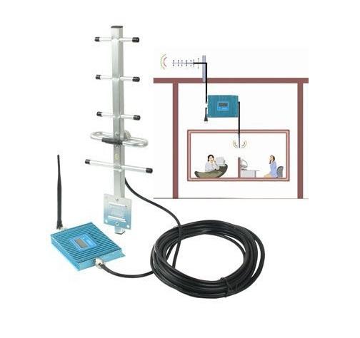Усилитель сигнала Repeater GSM990 с дисплеем (300 кв.м) - полный комплект