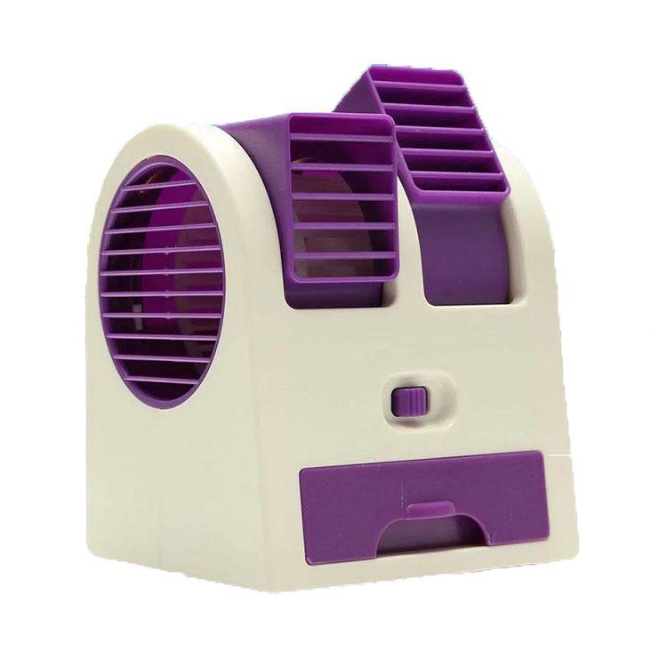 Настольный Кондиционер-Вентилятор HY-168, Цвет Фиолетовый