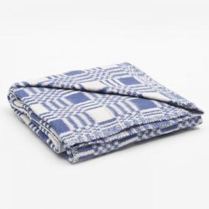 Одеяло байковое размер 90х140 см, цвет микс для мал., хл80%, ПАН 20%, 420гр/м   4296467