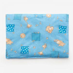 Подушка, размер 30*40 см, цвет голубой, набивка МИКС 214 1424001