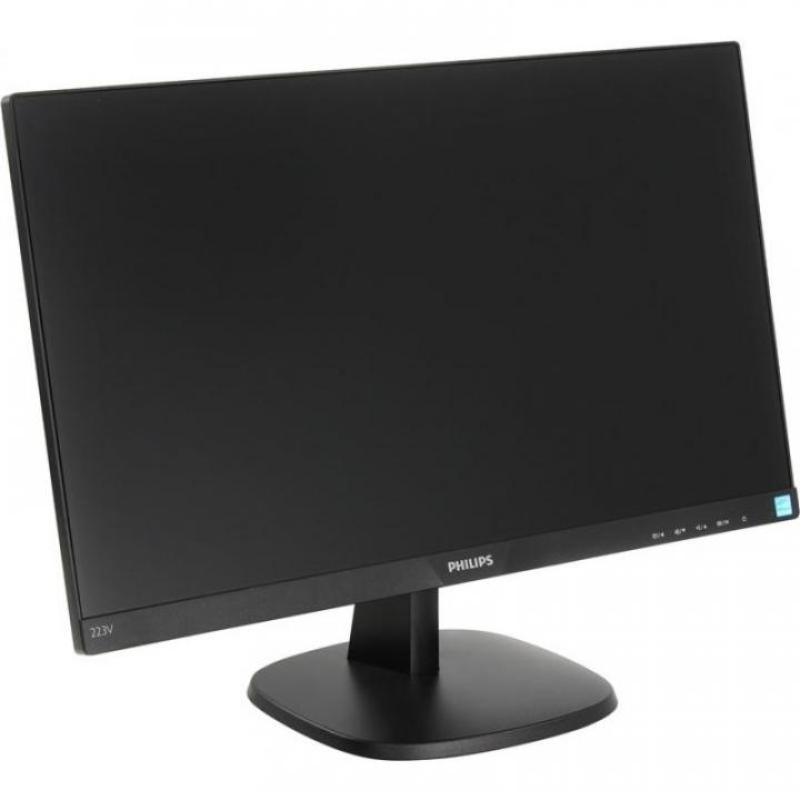 "Монитор Philips 22"" LED 223V7QHSB(00/01): IPS, 1920x1080, 178°/178°, 250кд/м2, 1"