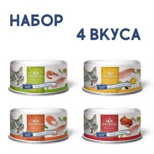 """SECRET Premium Набор из 4 консервов """"Курица"""""""