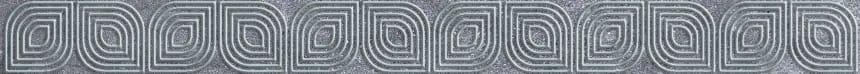 1504-0418 Бордюр настенный Кампанилья 3,5x40 серый