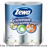 Zewa Plus.Полотенце кух. бумажн. 2-х сл 2шт., шт