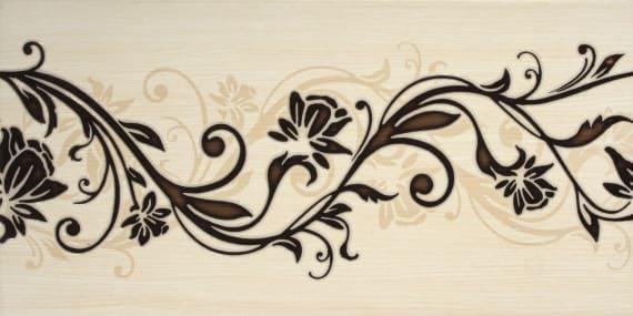 1641-0055 Настенная плитка Кураж 20х40 декор 2