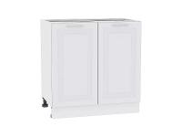 Шкаф нижний с 2-мя дверцами Ницца Royal Н800 в цвете Blanco