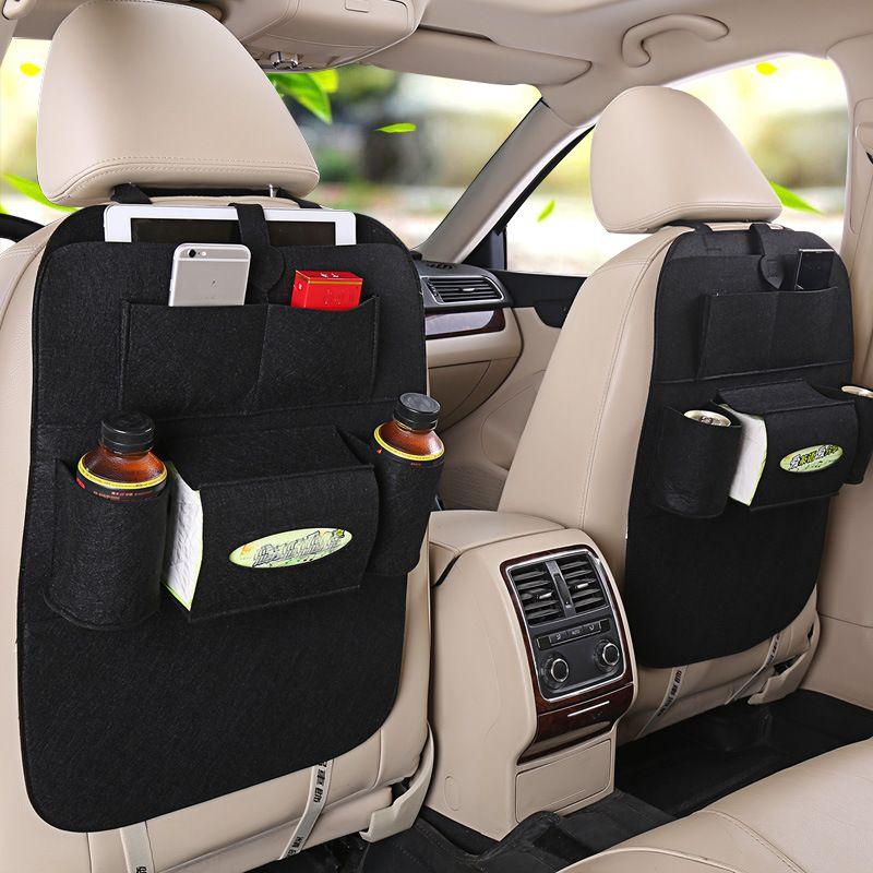 Органайзер Для Спинки Сиденья Авто Vehicle Mounted Storage Bag, Цвет Черный