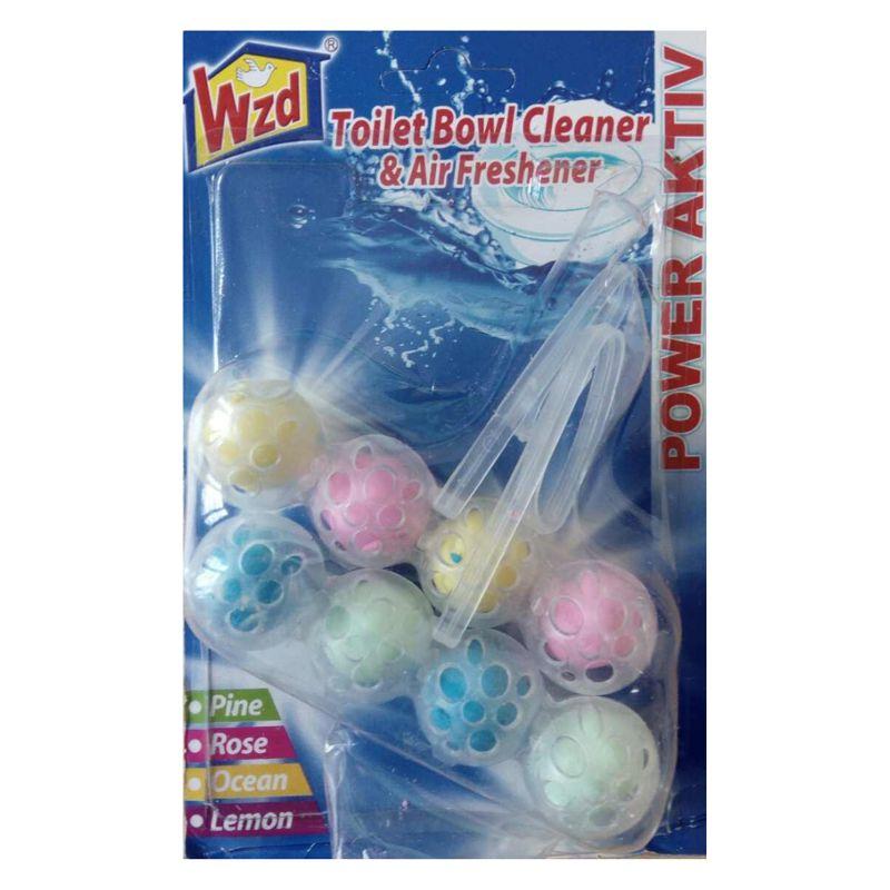 Гигиенические шарики для унитаза WZD 4 в 1, набор 2 блока