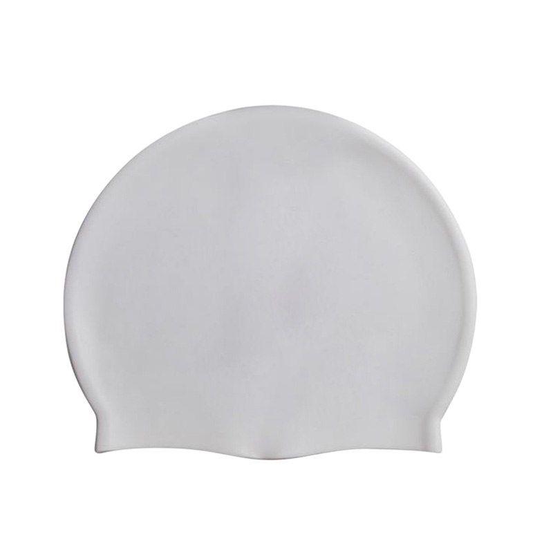 Силиконовая Шапочка Для Плавания Afiter, Цвет Белый