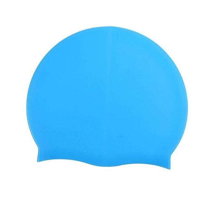 Силиконовая Шапочка Для Плавания Afiter, Цвет Голубой