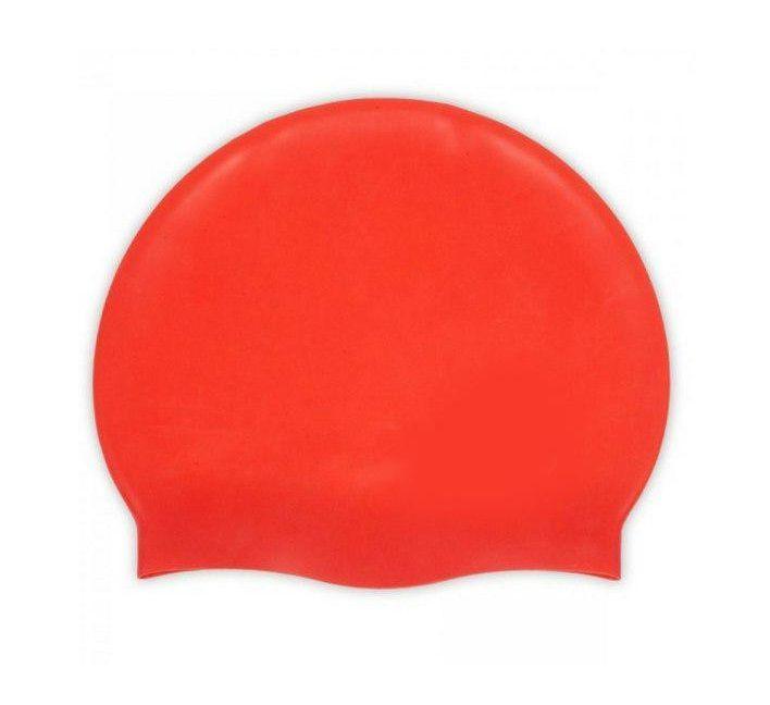 Силиконовая Шапочка Для Плавания Afiter, Цвет Красный