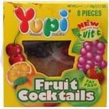 Жевательные конфеты Yupi Fruit Cocktails 24г