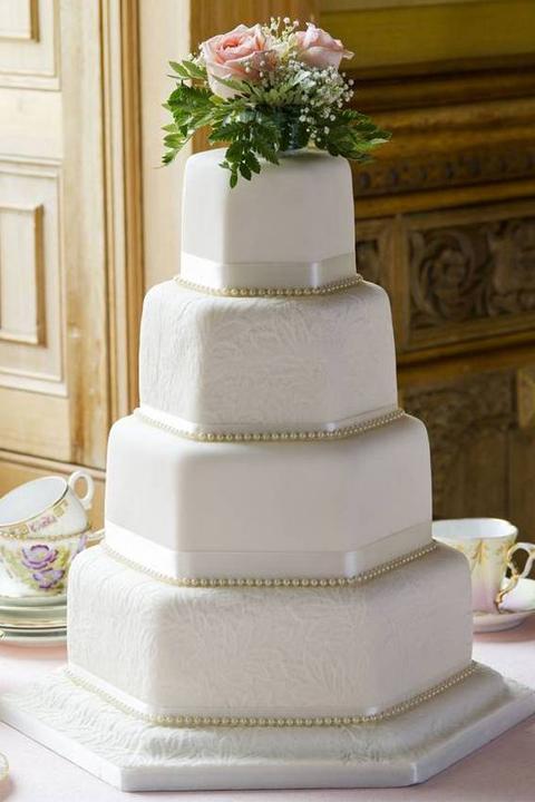 Свадебный торт Сладкая Пирамида