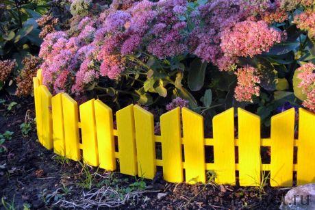 Бордюр Летний сад (желтый)