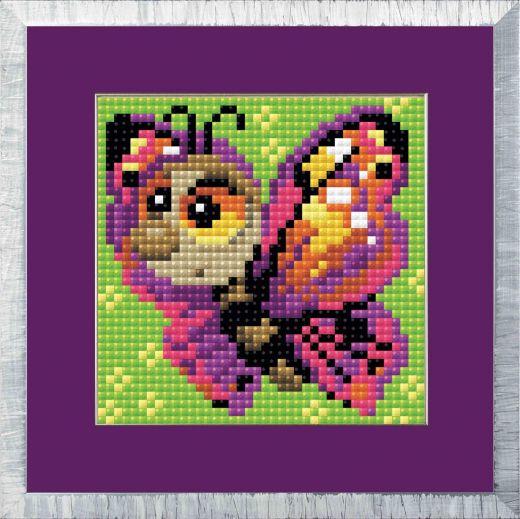 Набор для выкладывания стразами Бабочка АМ0022 фирма Риолис