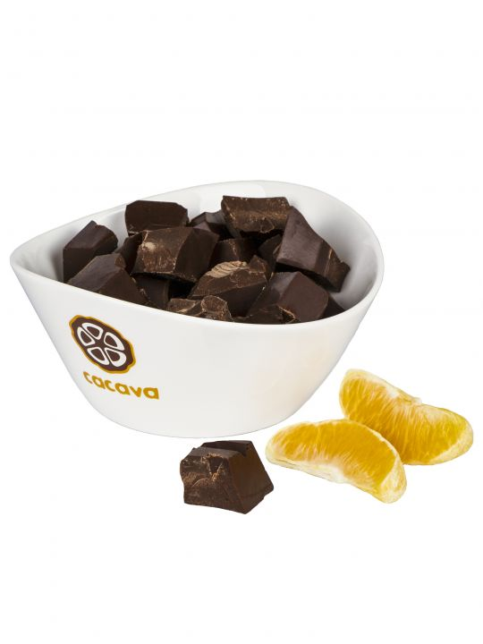 Тёмный шоколад с апельсином 70 % какао (Эквадор), 100 гр.