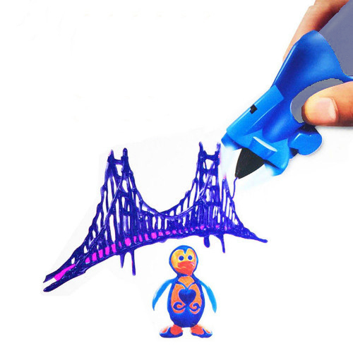 3D Ручка Creative Drawing Pen, Цвет Синий