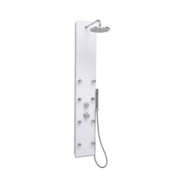 Ravak Totem Jet Glass душевая панель с термостатом 27х155 ФОТО