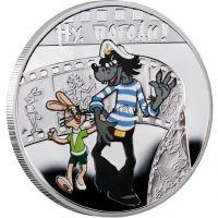 1 доллар 2010 года, Острова Ниуэ, Герои мультфильмов, Ну, погоди!