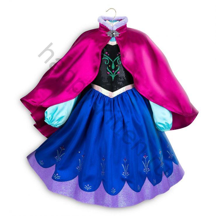 Платье костюм Анны Disney 5/6 лет