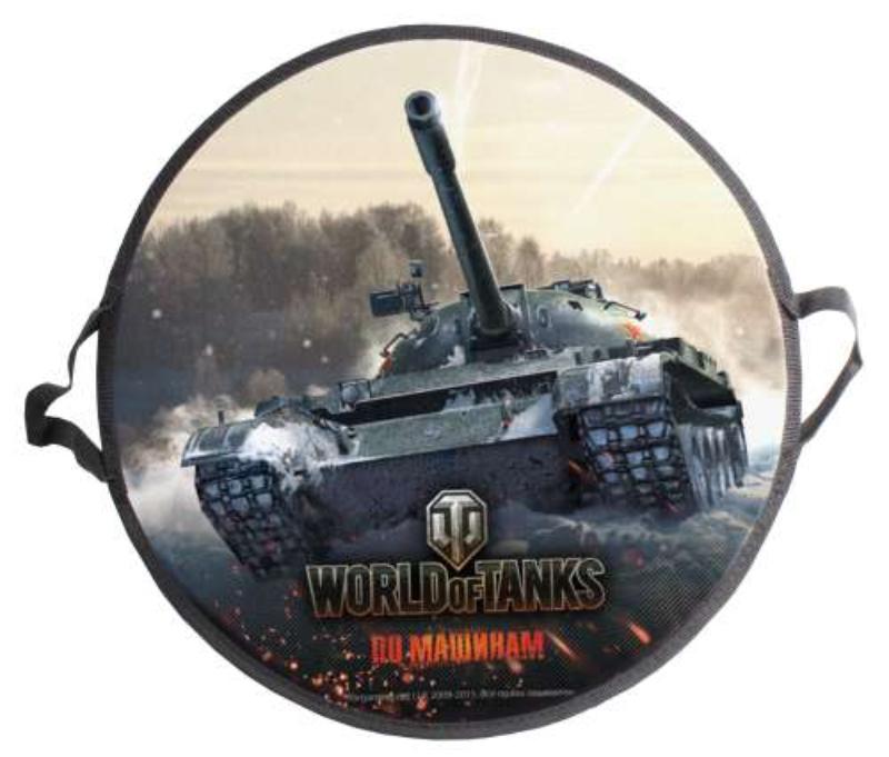 Круглая ледянка World of Tanks  52 см