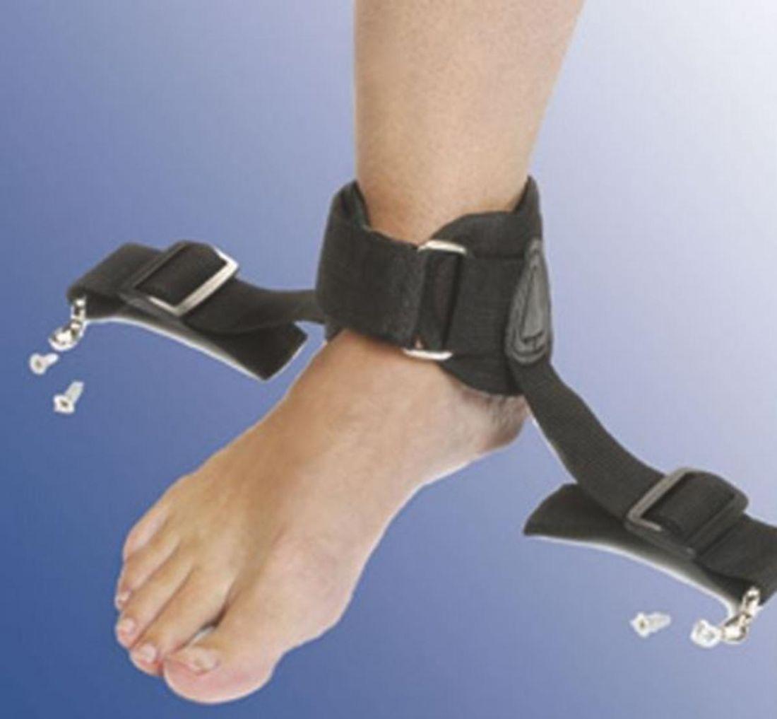Ремень безопасности ножной для поддержания щиколотки, общая длина 23-31 см
