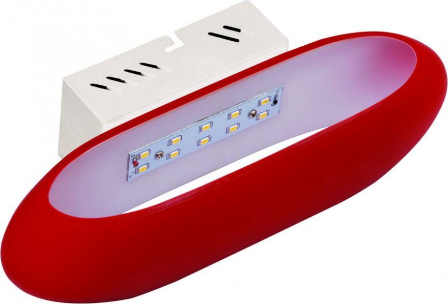 Светильник светодиодный HOROZ 5W 4000К 325lm IP20 Красный 275х60х70мм HL855L