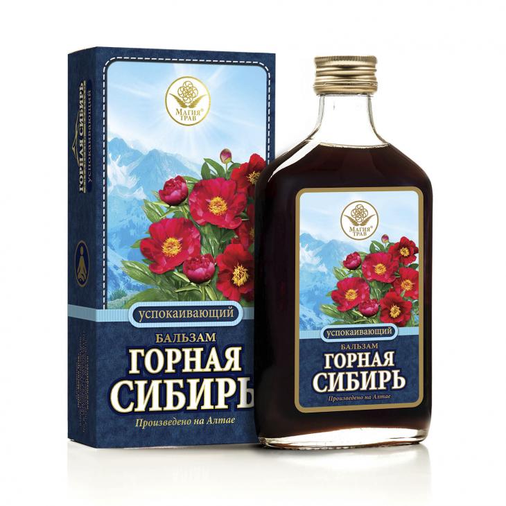 Бальзам успокаивающий «Горная Сибирь»