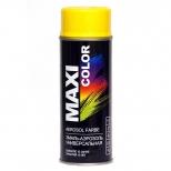 Краска аэроз. MAXI COLOR RAL 1004 золотисто-жёлтая 400мл.