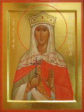 Икона Людмила Чешская мученица
